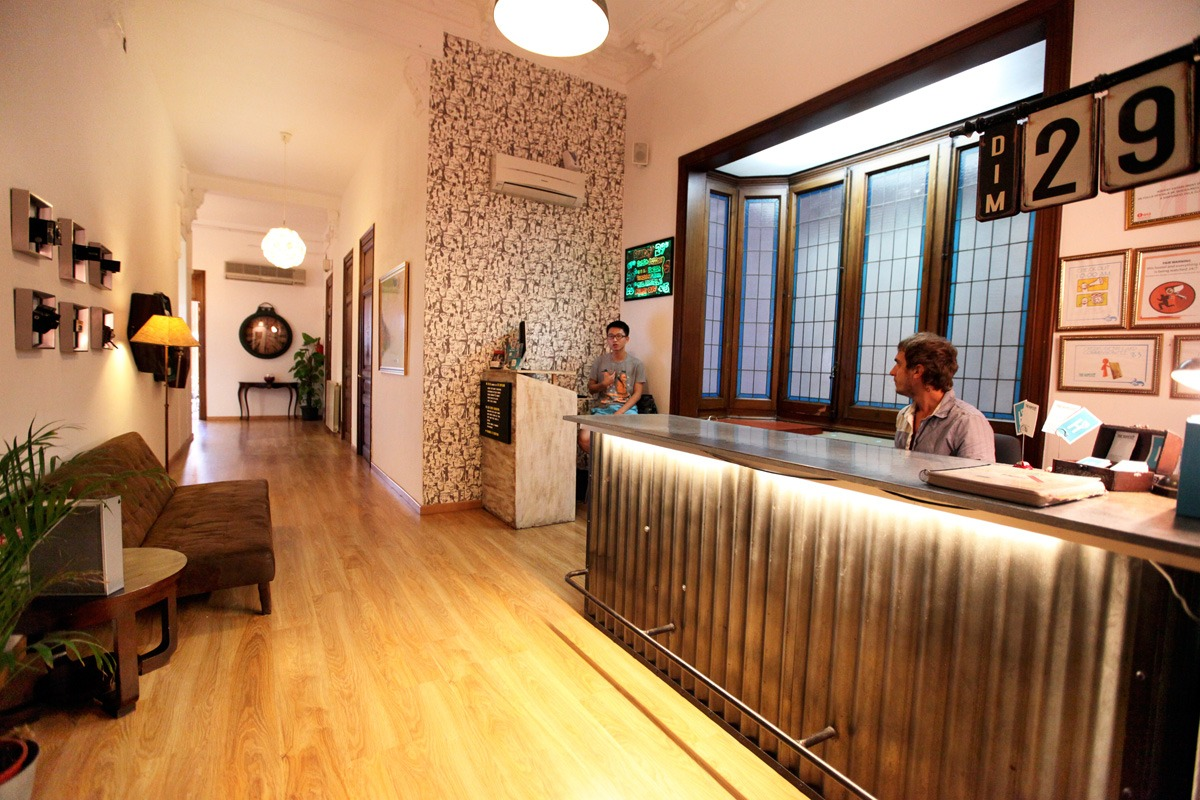 The Histel Hostel In Barcelona City Centre 02