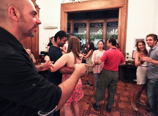 The Hipstel Hostel Barcelona Events Dancing
