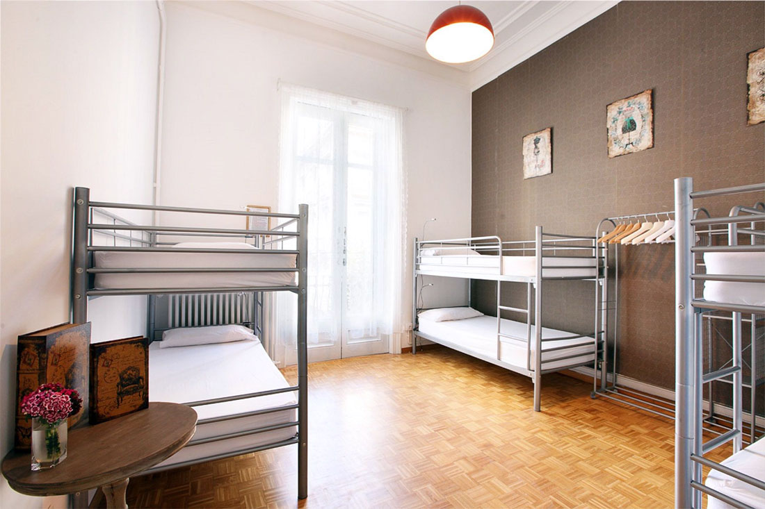 The Hipstel Paseo de Gracia - Hostel Rooms