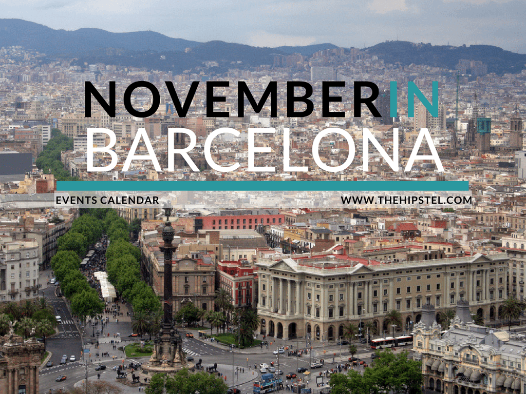 november in barcelona